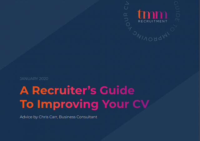 A Recruiter's Guide To Improving Your CV