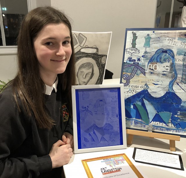 My Future Aspirations Winner 2019 - Aoife Moffat from The Gordon Schools in Huntly