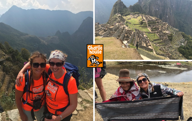 Machu Picchu in aid of Charlie House.