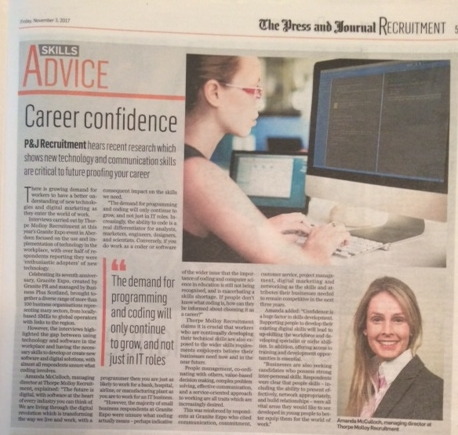 Skills Advice Press And Journal your Job Feature